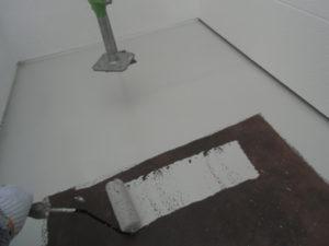 トタン部分下地塗装