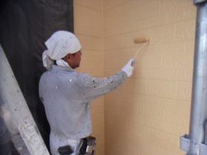 外壁上塗り(2)