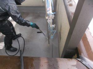 外壁高圧洗浄(1)