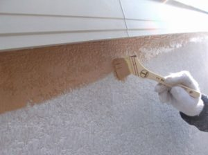 外壁中塗り(2)