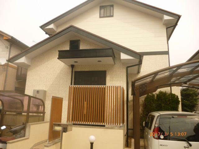 姫路市的形町 E様|外壁塗装・屋根塗装