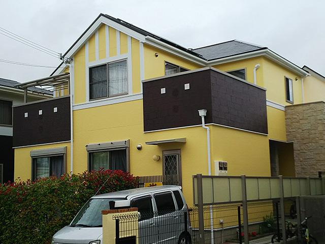 神戸市西区井吹台 N様 外壁塗装・屋根塗装