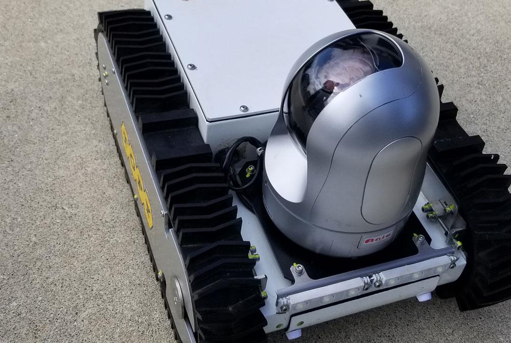 床下点検ロボットテスト