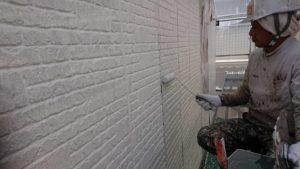 外壁中塗り(1)