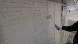 外壁上塗り(1)