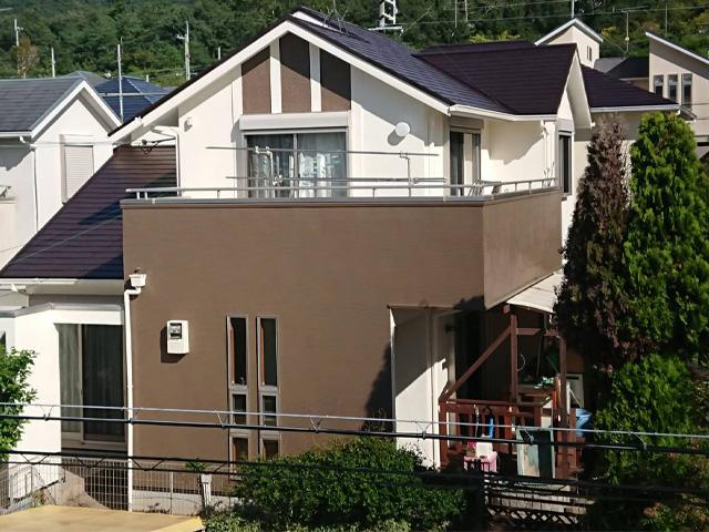 北区花山中尾台 F様|外壁塗装・屋根塗装