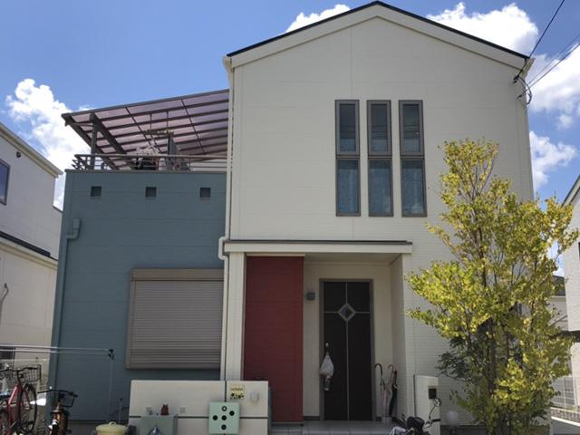 北区藤原台中町 H様|外壁塗装・屋根塗装