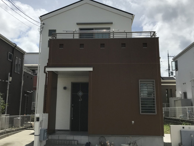北区藤原台中町 S様|外壁塗装・屋根塗装