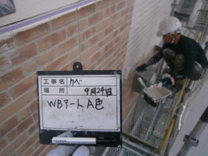 WB A色塗装