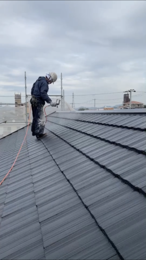 屋根光触媒塗布