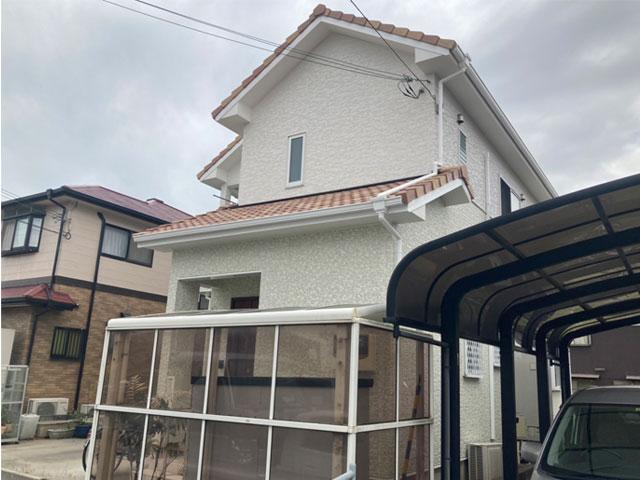 姫路市網干区田井 U様|外壁塗装