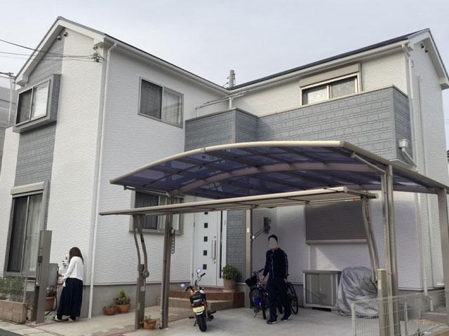 神戸市垂水区潮見が丘 F様|外壁塗装・屋根塗装