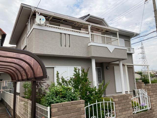 明石市二見町 K様|外壁塗装・屋根葺き替え