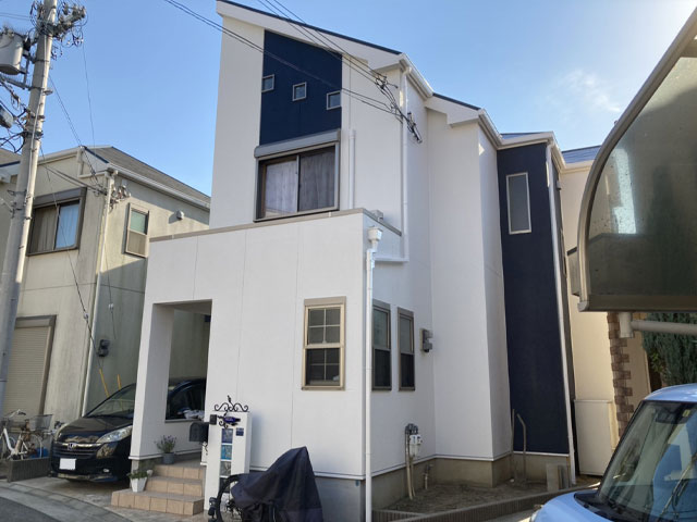 神戸市垂水区北舞子 Y様|外壁塗装・屋根塗装