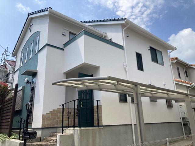 神戸市北区菖蒲が丘 K様|外壁塗装・屋根塗装