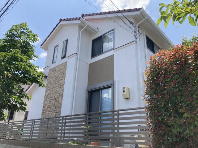 神戸市北区菖蒲が丘 H様|外壁塗装・屋根塗装