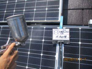 ソーラーパネル光触媒