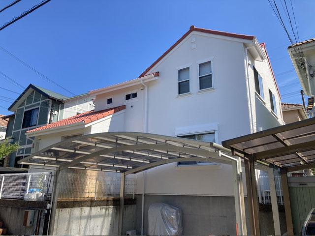 神戸市北区小倉台 M様|外壁塗装・屋根塗装