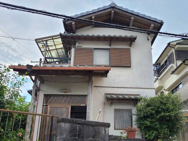 神戸市北区有野町 K様 屋根葦き替え工事
