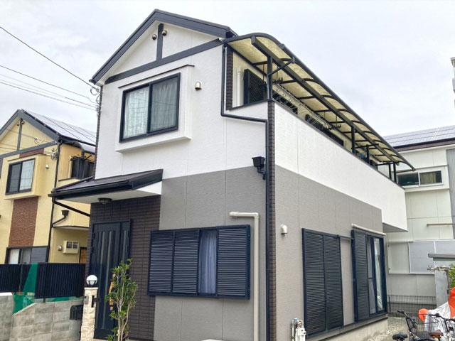 神戸市須磨区大池町 A様|外壁塗装・屋根塗装